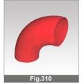 Колено 90 Fig.310