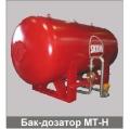 Бак-дозатор пенообразователя серии MTB-H горизонтальный. Bladder