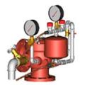 Узел управления спринклерный водозаполненный УУ-С100/1,2В-ВФ.04