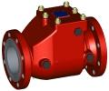 Клапан обратный однодисковый поворотный УФ.04
