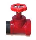 Вентиль пожарный чугунный прямоточный КПЧП 65-1