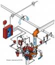 Обвязка дренчерного клапана