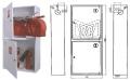Шкаф пожарный ШПК-320-12